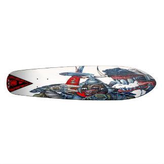 Equine Samurai Dentistry - Graffiti Sk8 Deck Skateboard Deck