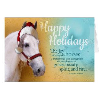 Equine Santa Card