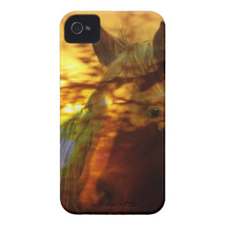 Equine sunset iPhone 4 Case-Mate cases