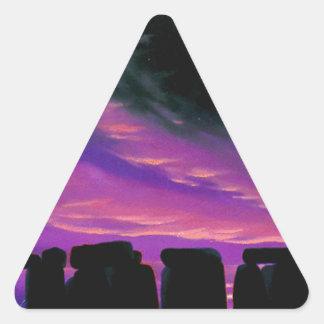 Equinox Triangle Sticker