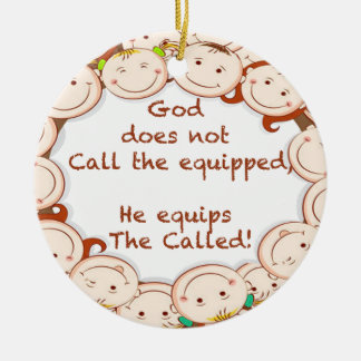Equip The Called! Ceramic Ornament