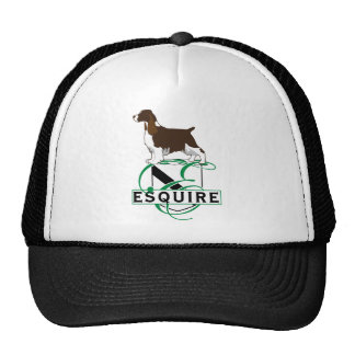 Equire English Springer Spaniels Trucker Hats