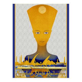 Eqyptian Railways Postcard