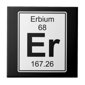 Er - Erbium Ceramic Tile