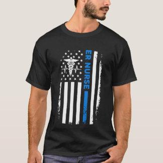 ER Nurse Flag T-Shirt