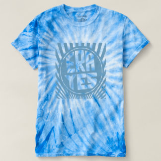 ERA YES  Baby Blue Cyclone Tie-Dye T-Shirt