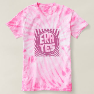 ERA YES Pink Cyclone Tie-Dye T-Shirt