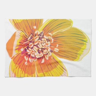 Eranthus - Rainbow Flower Tea Towel