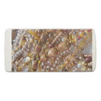 Eraser- Earth Tones Bead Print Eraser