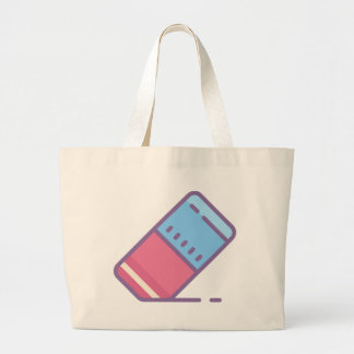Eraser Large Tote Bag