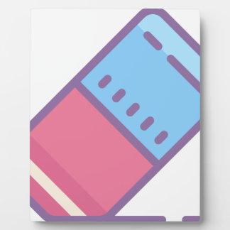 Eraser Plaque