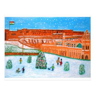Erbil Citadel Chistmas.JPG Postcard