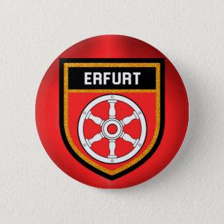 Erfurt Flag 6 Cm Round Badge