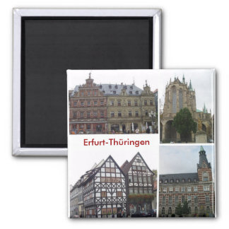 Erfurt Square Magnet