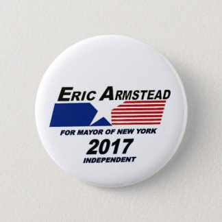 Eric Armstead for NYC Mayor 2017 6 Cm Round Badge