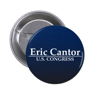 Eric Cantor U.S. Congress 6 Cm Round Badge