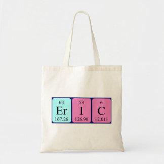 Eric periodic table name tote bag