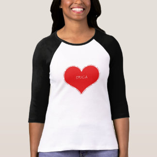 Erica red heart T-Shirt