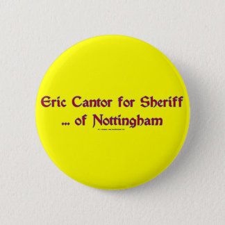 EricCantorSheriff 6 Cm Round Badge