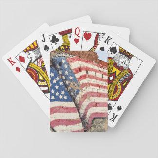 Erick, Oklahoma, USA. Route 66 Poker Deck