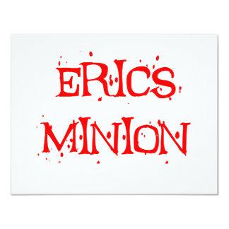 Erics Minion 11 Cm X 14 Cm Invitation Card