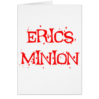 Erics Minion Greeting Card