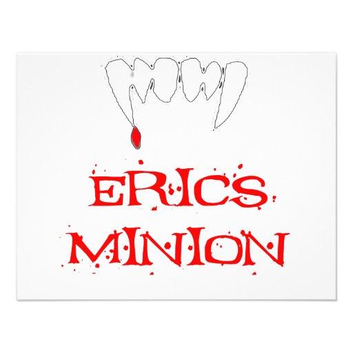 Erics Minion Personalized Invitations