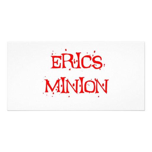 Erics Minion Custom Photo Card