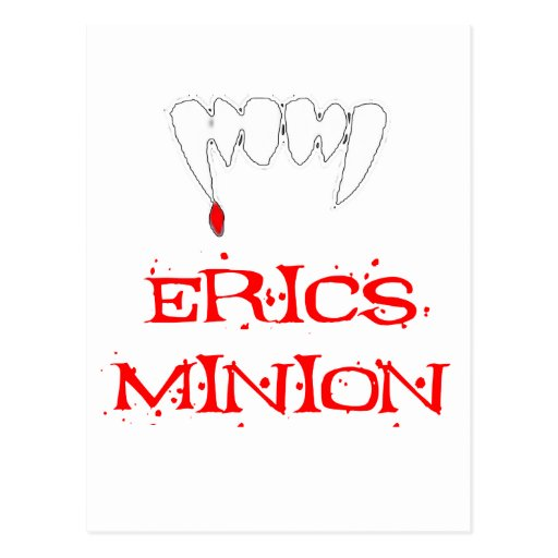 Erics Minion Postcards