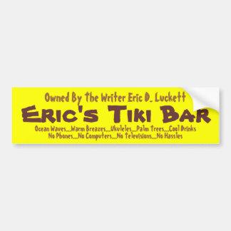 Eric's Tiki Bar Bumper Sticker 002
