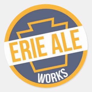 Erie Ale Works Logo Sticker
