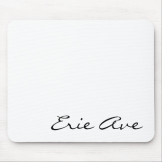 Erie Ave Mousepad #1