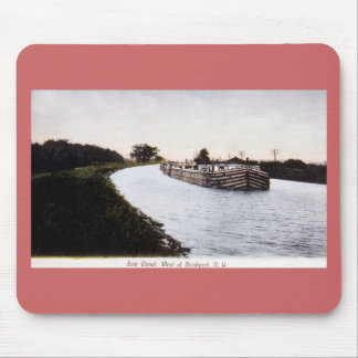 Erie Canal, West of Broadport, New York Mouse Pad