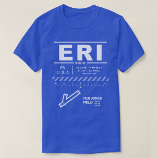 Erie International Airport ERI Tee Shirt