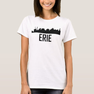 Erie Pennsylvania City Skyline T-Shirt