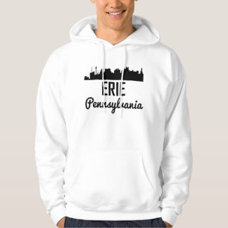 Erie Pennsylvania Skyline Hoodie