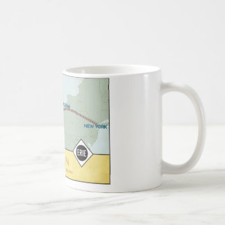 Erie Railroad Map Mug (11oz)