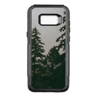 Erie Woodland Forest Pine Tree Dark  Nature Pines OtterBox Commuter Samsung Galaxy S8+ Case