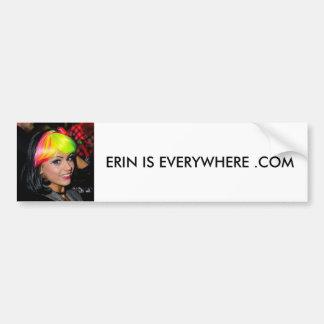 Erin Everywhere Bumper Sticker