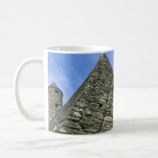 Erin Forever Mug-Church in Glendalough, Ireland Coffee Mug