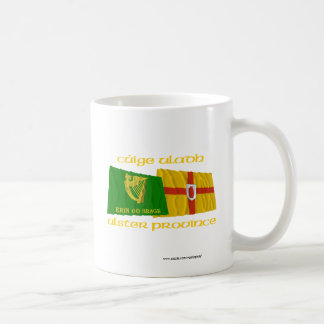 Erin Go Bragh and Ulster Province Flags Coffee Mug