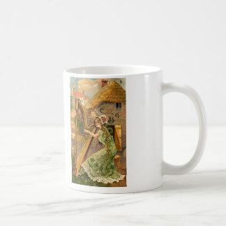 Erin Go Bragh Harp Woman Coffee Mug