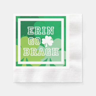 Erin Go Bragh Paper Napkins