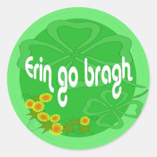 Erin go Bragh Stickers