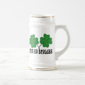 Erin Go Braless Beer Stein