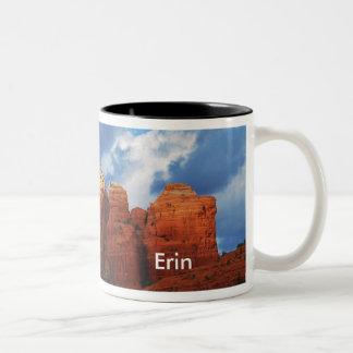 Erin on Coffee Pot Rock Mug
