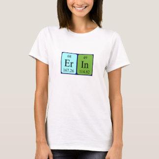 Erin periodic table name shirt