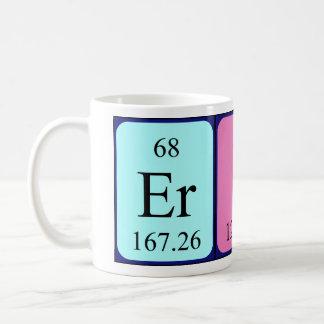 Erine periodic table name mug