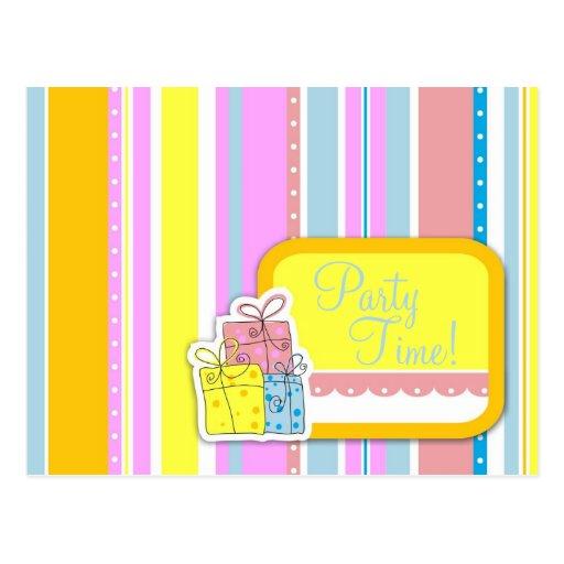 Erin's Girl Birthday Invitation