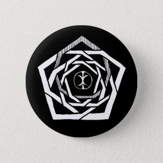 Erisian Mandala Reverse 6 Cm Round Badge